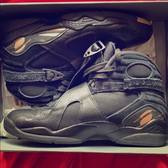 the latest c2045 213d5 Air Jordan 8 OVO black